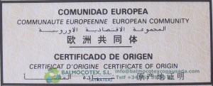 certificado de limpieza