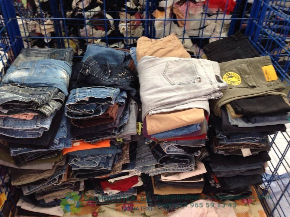 Clasificación de ropa usada